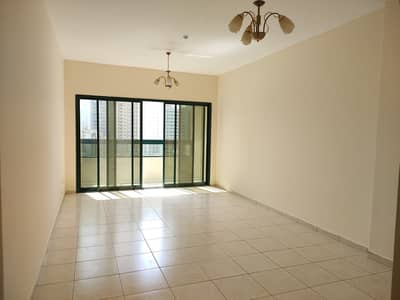 2 Bedroom Flat for Rent in Al Majaz, Sharjah - Very hot property 40 days free spacious 2bhk rent only 30k with balcony on jamal Abdul Nasir street