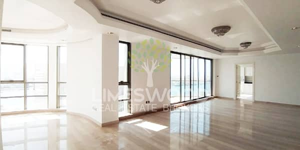 4 Bedroom Flat for Rent in Deira, Dubai - 4BR with Amazing Creek View Chiller and Water Free
