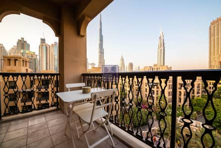 2 Bedroom Apartment for Rent in Old Town, Dubai - Traditional Souq Inspired 2BR Apt in Downtown Dubai