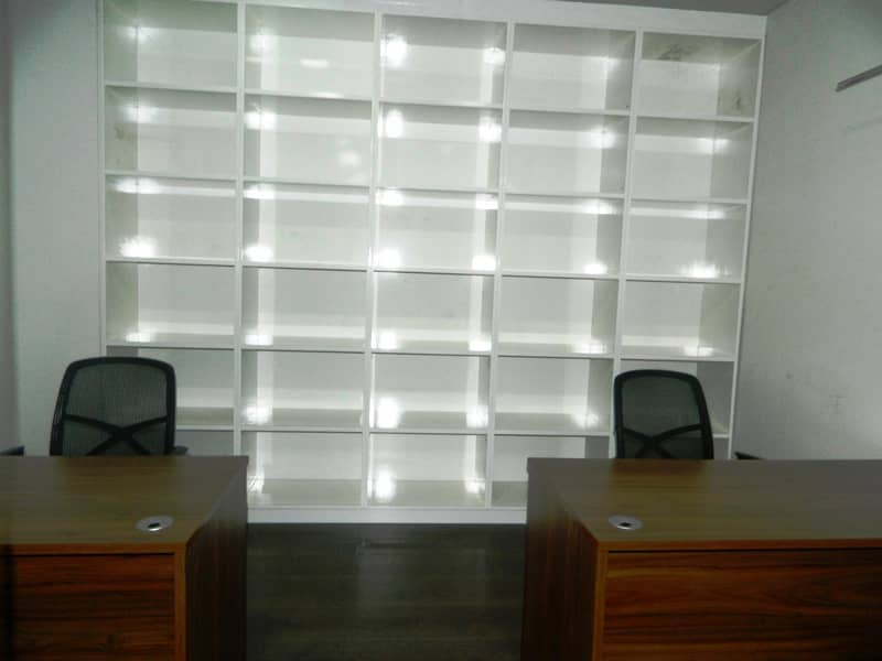 13 FFully Furnished|Fitted Office|4 Parking|Bay Square