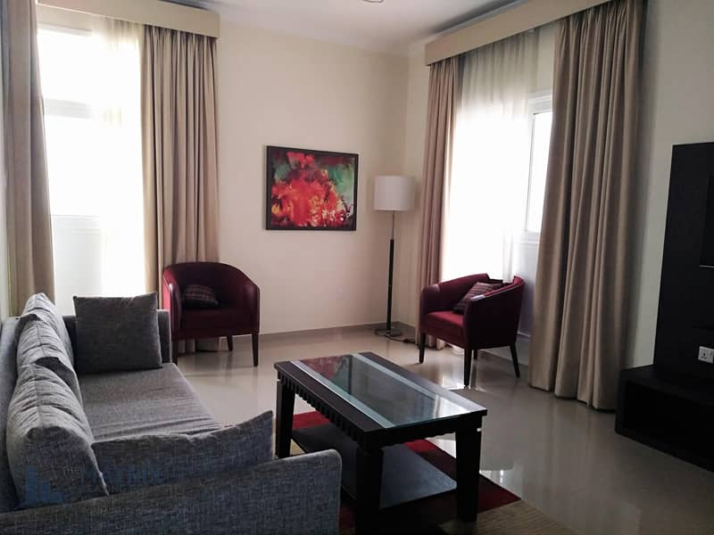 Spacious 1BR / Furnished in Siraj  at  AED 44k