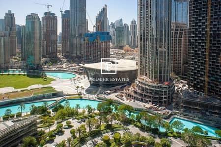 استوديو  للبيع في وسط مدينة دبي، دبي - ELEGANT | FURNISHED STUDIO | OPERA and LAKE VIEW