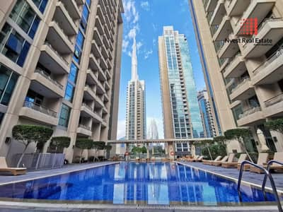 1 Bedroom Flat for Sale in Downtown Dubai, Dubai - Open view|Rented unit|well-maintained|1 bedroom