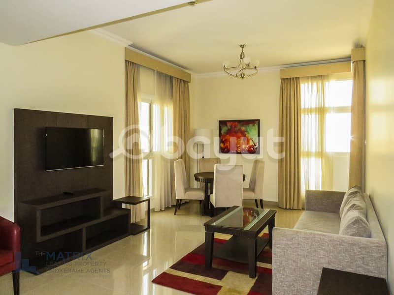 2 Spacious 1BR / Furnished in Siraj  at  AED 44k