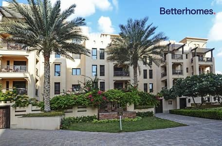 2 Bedroom Flat for Rent in Old Town, Dubai - Unfurnished | Balcony | Family Community