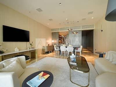 شقة 2 غرفة نوم للايجار في نخلة جميرا، دبي - High Floor | Sea views | All bills included