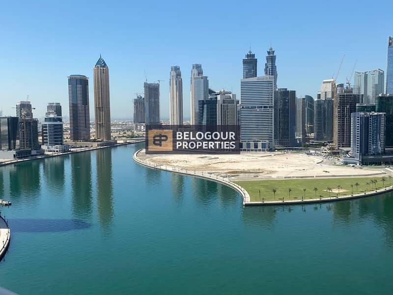 Full Canal View Fully Furnished Studio for Rent in  DAMAC PRIVE