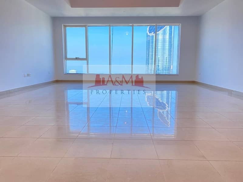 2 NO COMMISSION.: 3Bhk with Maids room & all Facilities in Tallest Tower on Electra street for AED 12