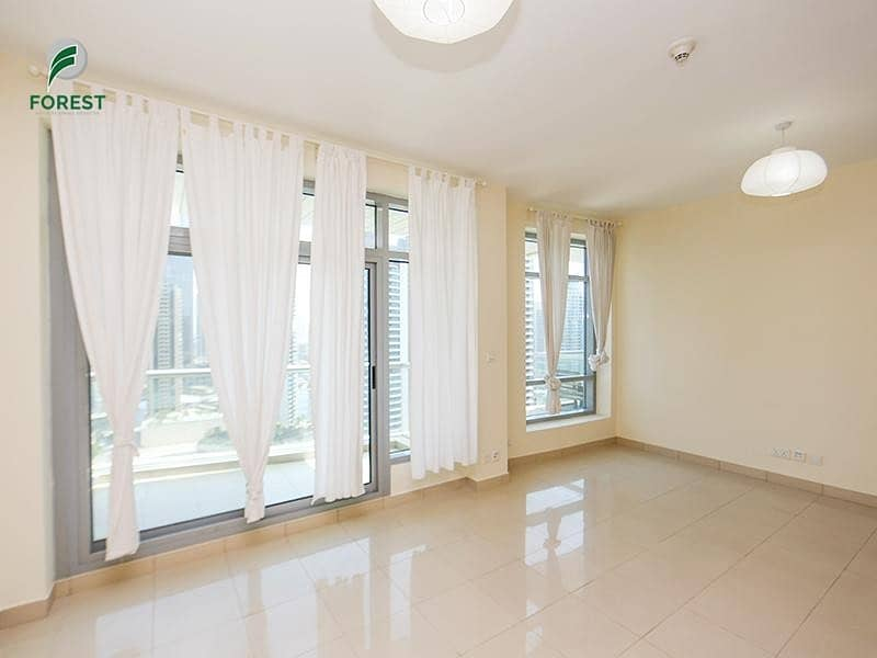 2 Available Now |1BR with Huge Balcony | Marina View