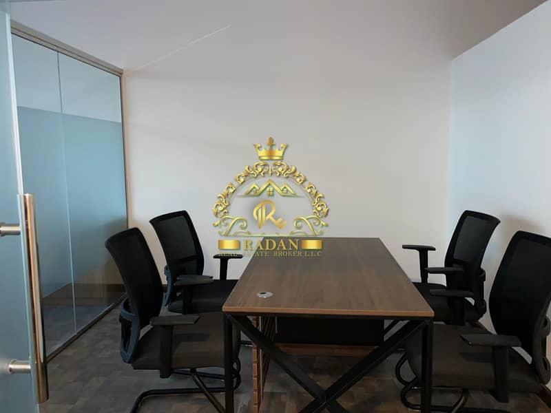 2 Full Burj Khalifa View | Fitted Office for Rent | 110K