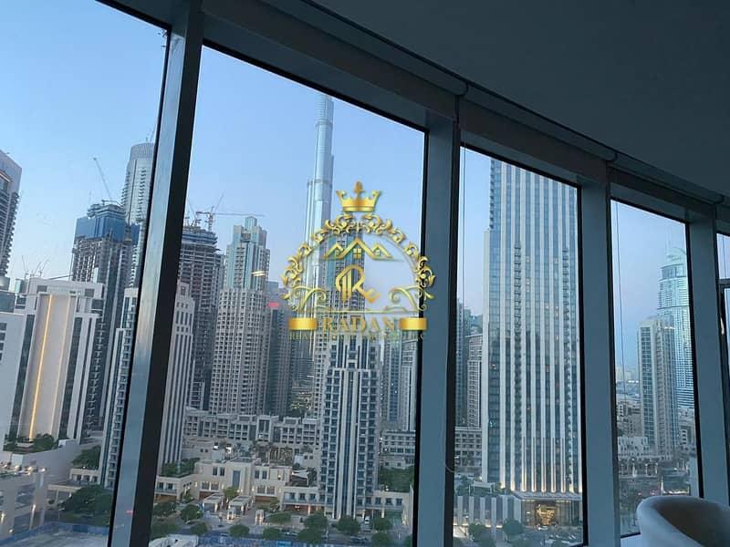 12 Full Burj Khalifa View | Fitted Office for Rent | 110K