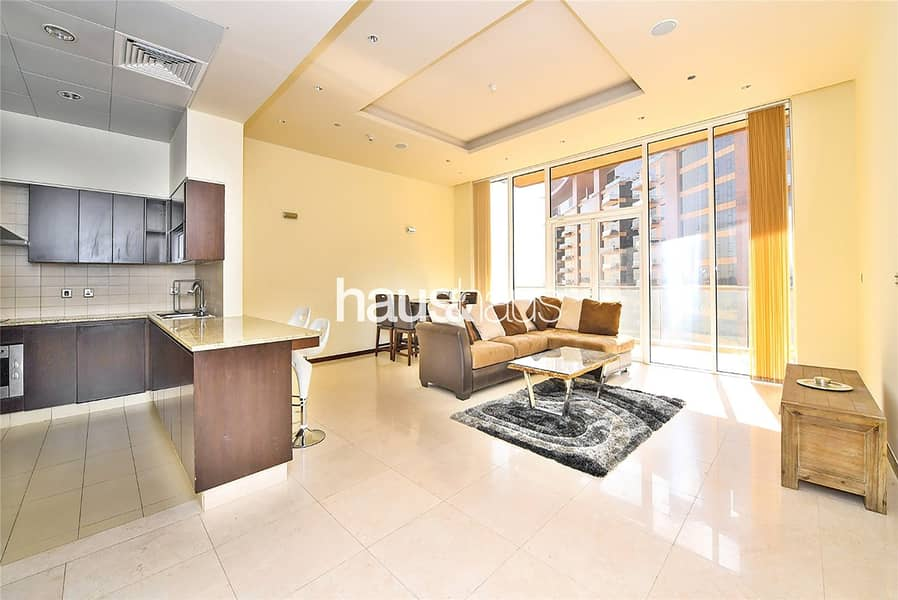 Fully furnished | High floor and Sea view