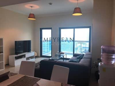 2 Bedroom Apartment for Rent in Dubai Marina, Dubai - Fully Furnished | Parital Marina View | Chiller Free