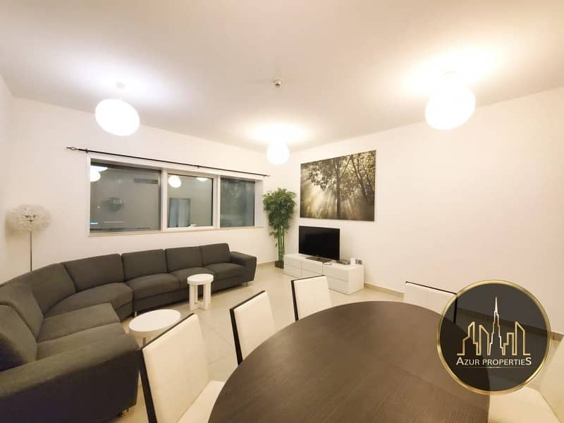 2 Beautifully Furnished 2 BR  | Chiller Free  | High Floor | Marina Pinnacle