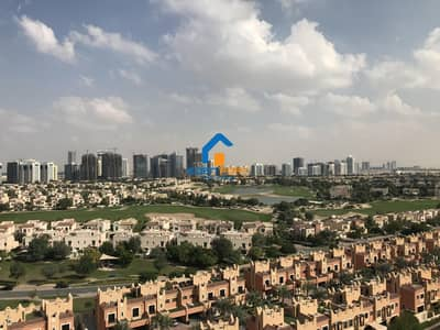 3 Bedroom Flat for Rent in Dubai Sports City, Dubai - Golf View 3 Bedroom Fully Furnished Apartment
