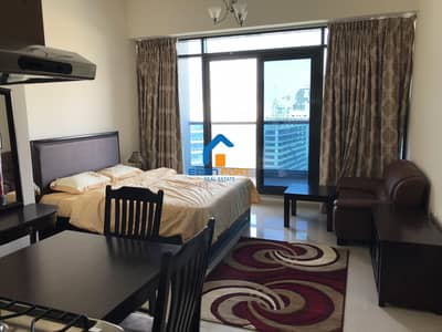 Studio for Rent in Dubai Sports City, Dubai - Golf View Fully Furnished Vacant Studio Flat
