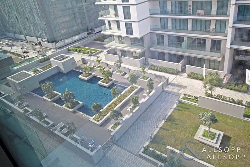 2 Pool Views   Brand New Studio   High Floor