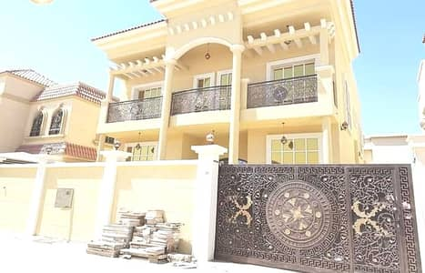 5 Bedroom Villa for Sale in Al Rawda, Ajman - For urgent sale from the owner and without any commission, Villa with luxurious hotel design and Super Deluxe finishing without down payment