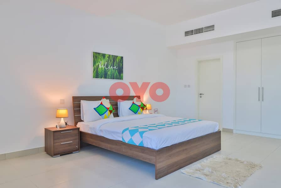 2 499 Monthly 1BHK | Fully Furnished | Free DEWA/WiFi | No Commission