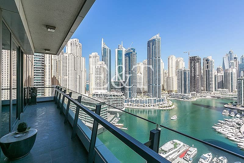 2 Full Marina View | High End Furniture | Must See