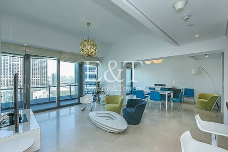 3 Bedroom Apartment for Rent in Dubai Marina, Dubai - Full Marina View   High End Furniture   Must See