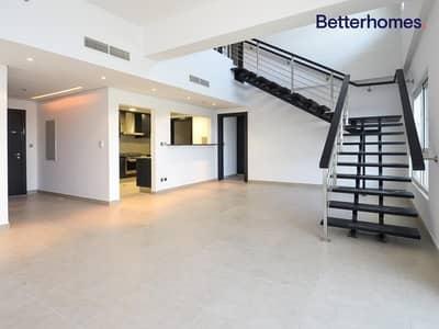 شقة 3 غرف نوم للايجار في تلال الجميرا، دبي - Stunning | Lake View | Duplex | Unfurnished