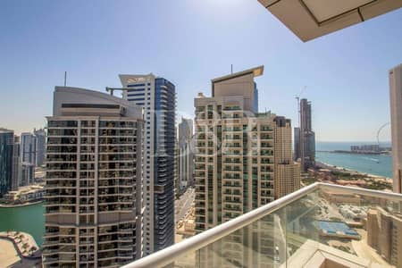 1 Bedroom Apartment for Rent in Dubai Marina, Dubai - Balcony | Ready To Move | Great Location