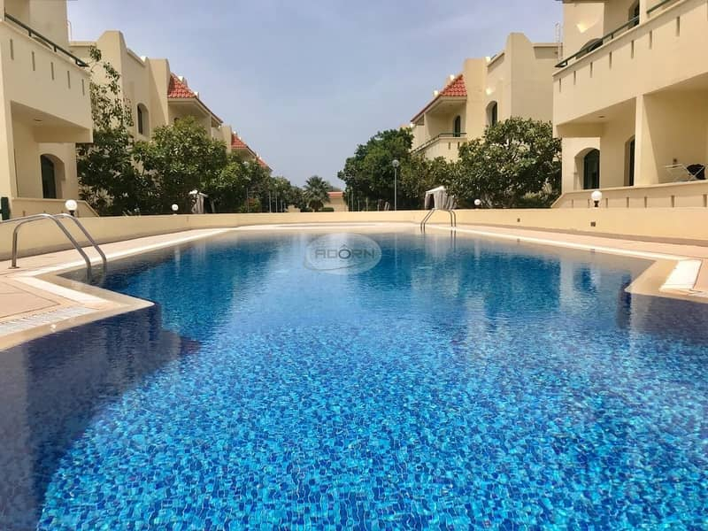 nice 3 bed room compound villa for rent in Umm Suqeim 2 with all facilities