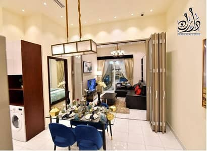 1 Bedroom Apartment for Sale in Liwan, Dubai - One-room apartment for sale fully furnished in installments over 7 years