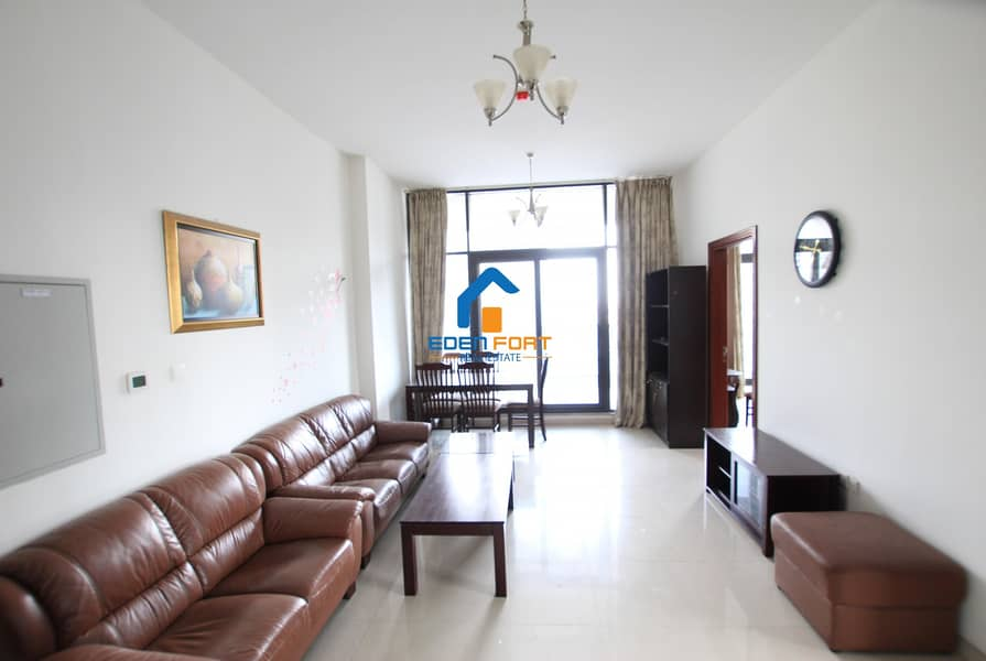 2 Fully Furnished-Two Bedroom- Closed Kitchen | DSC...