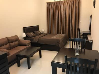 Studio for Rent in Dubai Sports City, Dubai - Spacious Fully Furnished  Studio Flat For Rent