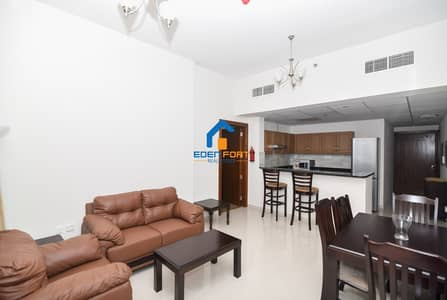 1 Bedroom Flat for Rent in Dubai Sports City, Dubai - Golf View -Well Maintained - Furnished Apartment For Rent..