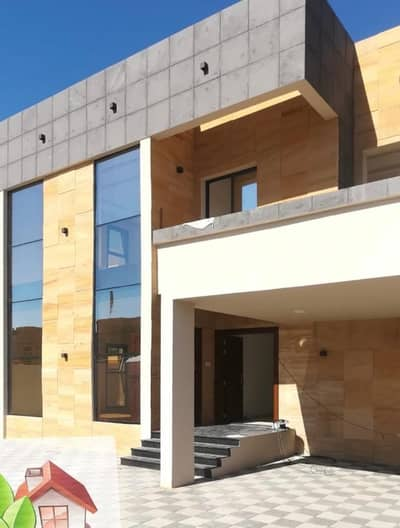 6 Bedroom Villa for Sale in Al Rawda, Ajman - Villa for sale in Rawda on Qar Street without a down payment from the bank