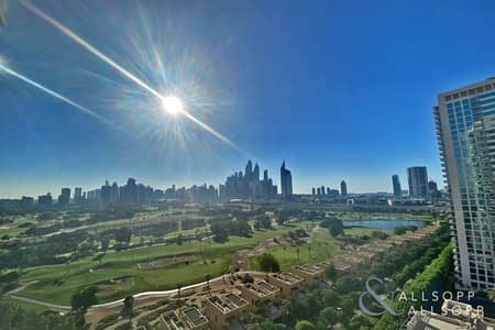 2 Bedroom Flat for Rent in The Views, Dubai - 2 Bedrooms | Golf and Marina Skyline Views