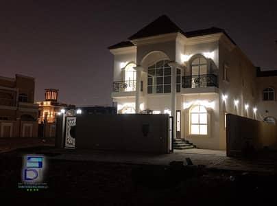 5 Bedroom Villa for Sale in Al Mowaihat, Ajman - own an excellent villa , two floors, modern design, super deluxe