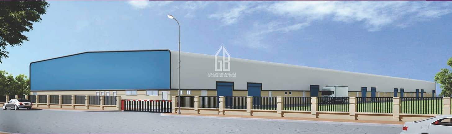 DIC - WAREHOUSE FOR SALE (LEASEHOLD PROPERTY) - 15 MILLION