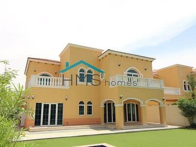 فیلا 5 غرف نوم للايجار في جميرا بارك، دبي - Avail Jan | Private Pool | Single Row | Legacy