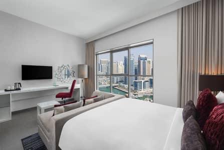 شقة فندقية  للايجار في أبراج بحيرات الجميرا، دبي - Superior King