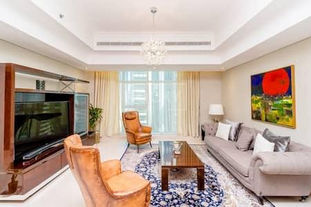 فلیٹ 3 غرف نوم للايجار في أبراج بحيرات الجميرا، دبي - Fully Upgraded | 3-Bed | Marina View
