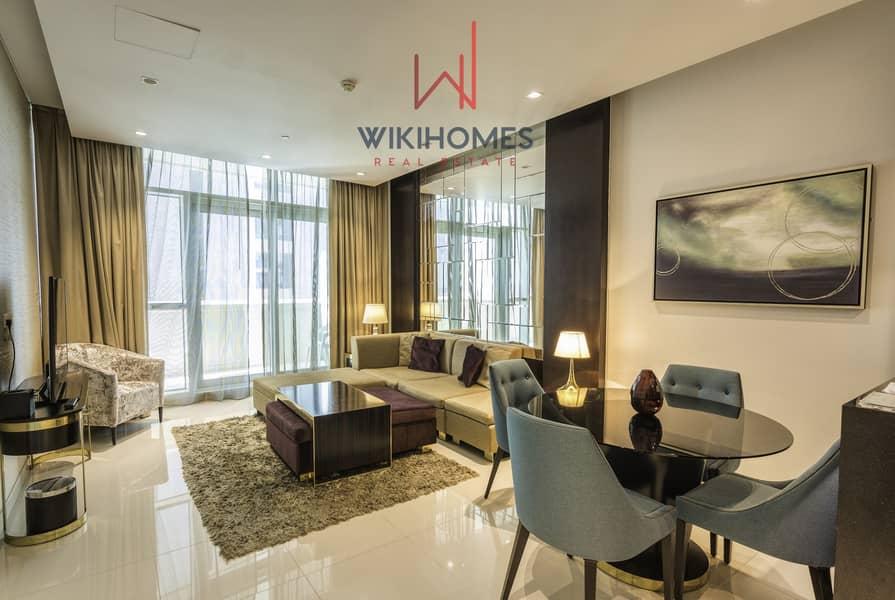 Beautiful modern design   Walking distance to Dubai mall   Contemporary Building