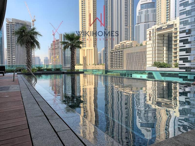 32 Beautiful modern design   Walking distance to Dubai mall   Contemporary Building