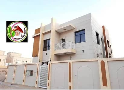 5 Bedroom Villa for Sale in Al Yasmeen, Ajman - For sale, modern villa, super deluxe finishing, at a great price, location, and financing over 25 years%