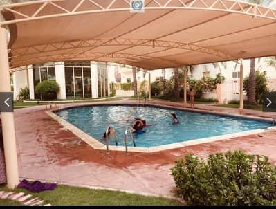 3 Bedroom Villa for Rent in Sharqan, Sharjah - Spacious 3 Bed Room Hall Duplex Villa Central Ac Gym Pool In Sharqan Sharjah
