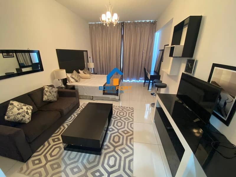 Fully Furnished Italian style Studio Flat with 12 Cheques Monthly Payment