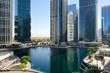 Studio for Sale in Jumeirah Lake Towers (JLT), Dubai - Bright Studio | Full Lake View | Balcony