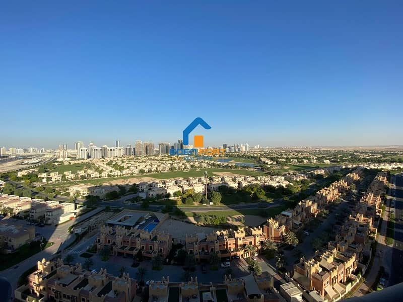 10 GOLF VIEW 1BHK FULLY FURNISHED IN ELITE 07