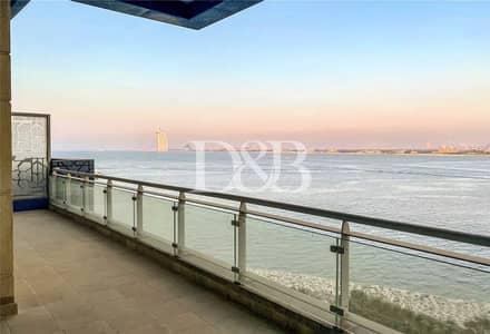 3 Bedroom Apartment for Rent in Palm Jumeirah, Dubai - 3 BR+Maids | Fantastic Burj Al Arab/Sea View