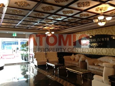 Full sea and palm view- 3BR+ Maid above 60th floor for sale in Princess Tower