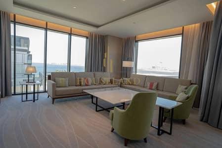 شقة 4 غرف نوم للايجار في جزيرة بلوواترز، دبي - LUXURY SERVICE |4BR  FULL SEA  VIEW |BILL INCLUSIVE
