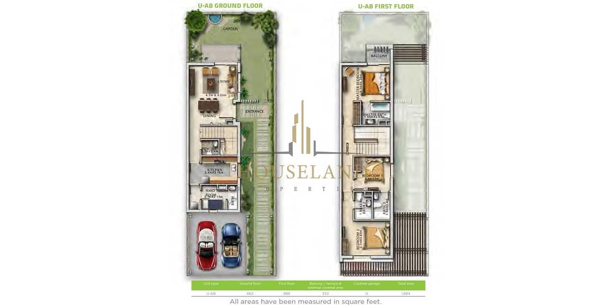 2 HandOver Q1 2021 l All Rooms Ensuit l Maid + Store Room l